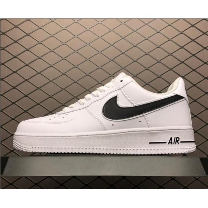 Men's/Women's Nike Air Force 1 07 3 White Black AO2423-101