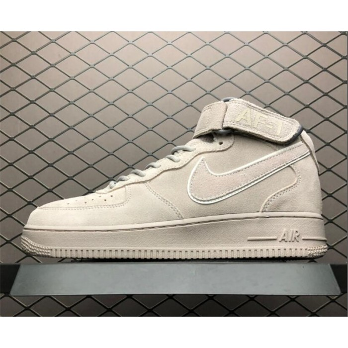 Men's Nike Air Force 1 Grey Suede