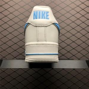 Men's/Women's Nike Air Force 1 07 3 White University Blue