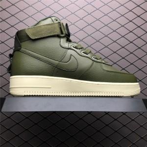 Men's/Women's Nike Air Force 1 High Utility Sportswear Green