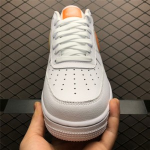 Men's/Women's New Nike Air Force 1 Low Oversized Swoosh White