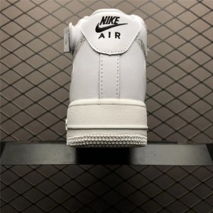 Men's/Women's New Nike Air Force 1 Mid Just Do It Pack White