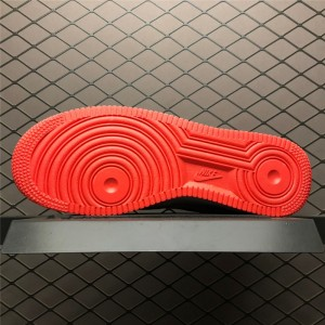 Men's/Women's Men and Nike AF 1 Low Transparent White Crimson