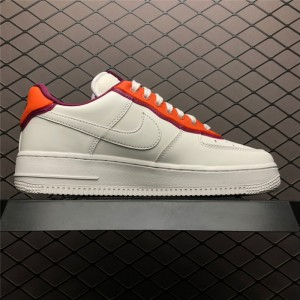 Men's New Nike Air Force 1 07 Low Sail Red On Sale