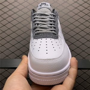 Men's/Women's Nike Air Force 1 07 Low White Grey On Sale