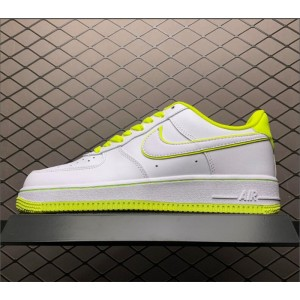 Men's/Women's Nike Air Force 1 07 Low White Yellow On Sale