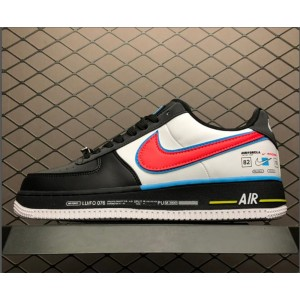 Men's/Women's Nike Air Force 1 07 QS Low All Star AF1 Black White
