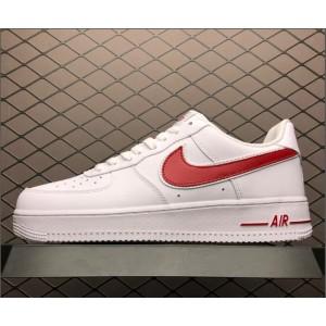 Men's/Women's Nike Air Force 1 07 White Red AO2423-102