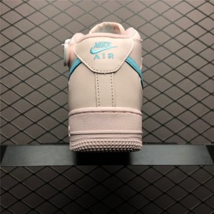 Women's Nike Air Force 1 High Pink Blue Size 882096-600