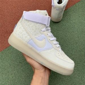 Men's/Women's Nike Air Force 1 High Stash White AO9296-100