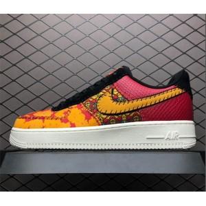 Men's/Women's Nike Air Force 1 Low Black Red AT4144-601