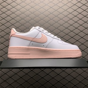 Women's Nike Air Force 1 Low GS White Pink Foam Outlet Online