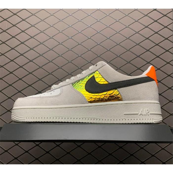 Men's/Women's Nike Air Force 1 Low Iridescent Snakeskin On Sale