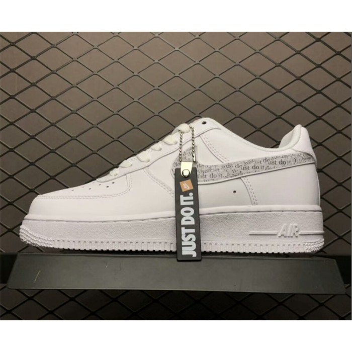 Men's/Women's Nike Air Force 1 Low Just Do It Pack White
