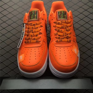 Men's/Women's Nike Air Force 1 Low Just Do It Total Orange