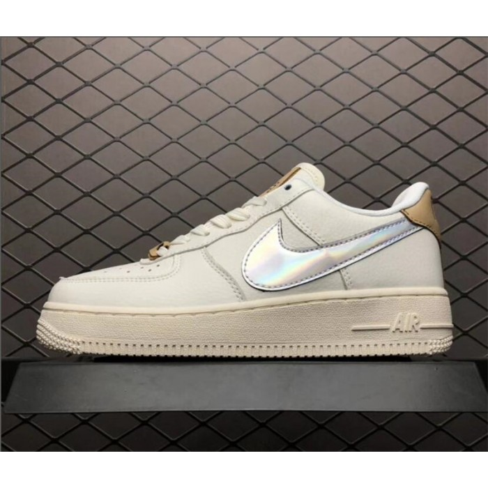 Men's/Women's Nike Air Force 1 Low Laser Nai Ke Beige Khaki