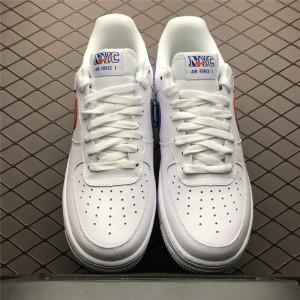 Men's/Women's Nike Air Force 1 Low NYC HS White Safety Orange