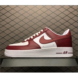 Men's Nike Air Force 1 Low Red White AQ4134-600 Size