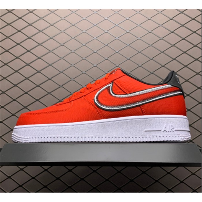 Men's/Women's Nike Air Force 1 Low Reverse Stitch Pack Red White