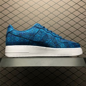Men's/Women's Nike Air Force 1 Low Stained Glass Green Abyss