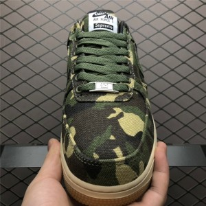 Men's/Women's Nike Air Force 1 Low Supreme Camouflage Sale