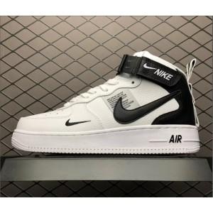 Men's/Women's Nike Air Force 1 High Utility White Black