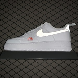 Men's/Women's Nike Air Force 1 Low Utility White Red On Sale