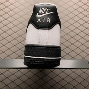 Men's/Women's Nike Air Force 1 Low White Black Midsole