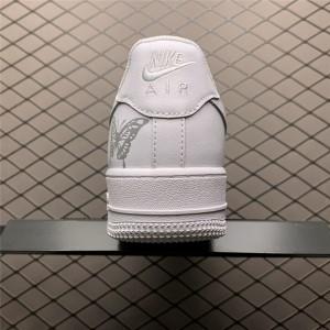 Men's/Women's Nike Air Force 1 Low White Butterfly N-0255