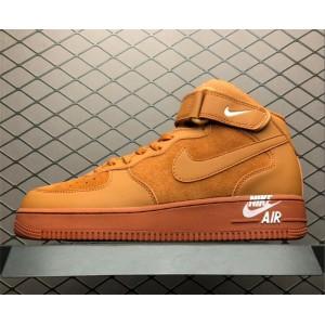 Men's/Women's Nike Air Force 1 Mid 07 Orange 315123-207