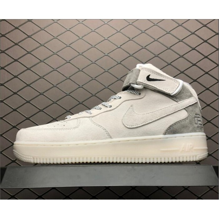Men's/Women's Nike Air Force 1 Mid AF1 X Reigning Champ White