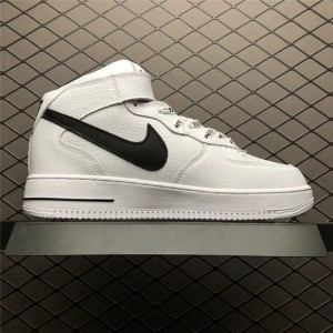 Men's/Women's Nike Air Force 1 Mid NBA White Black 823511-103