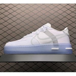Men's/Women's Nike Air Force 1 React Low QS White