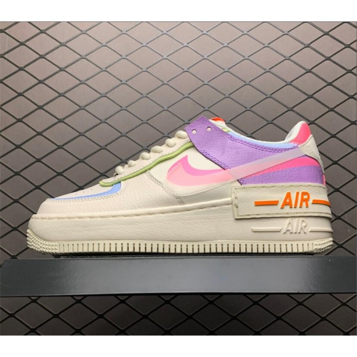 Women's Nike Air Force 1 Shadow Beige Pale Ivory