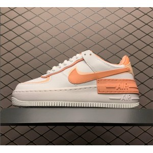Women's Nike Air Force 1 Shadow White Pink Quartz-Washed Coral