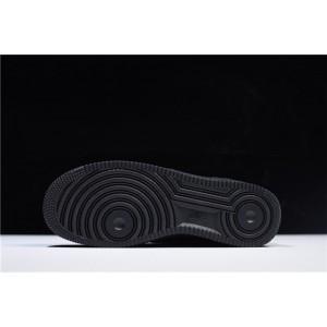 Men's/Women's Nike Air Force 1 Low Velcro Swoosh Pack Black