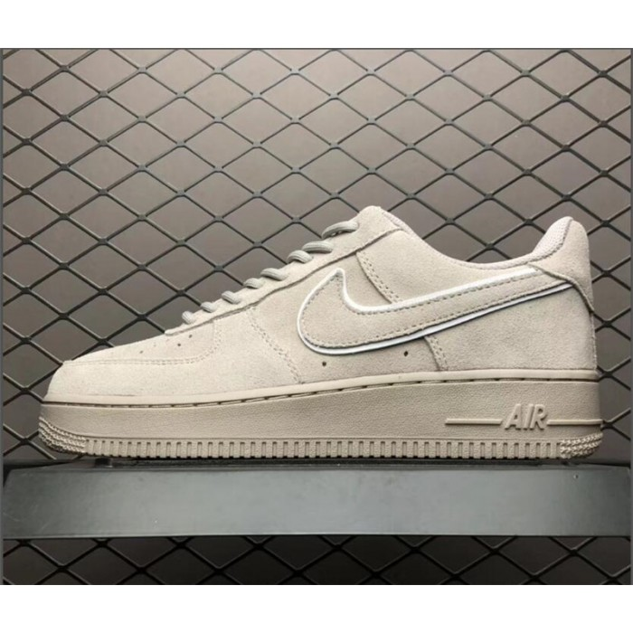 Men's/Women's Nike Air Force 107 AF1 Suede Moon Particle