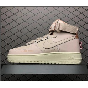 Women's Nike Sportswear Air Force 1 High Pink Sail Girls Sneakers