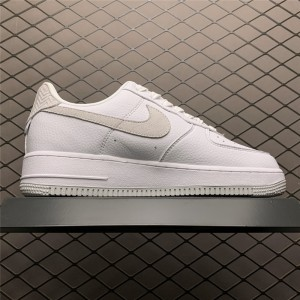 Men's/Women's Shop Nike Air Force 1 Craft White And Grey