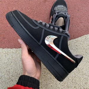 Men's Travis Scott x Nike Air Force 1 Black Sale