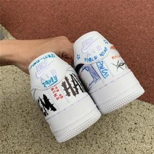 Men's Vlone x Pauly x Nike Air Force 1 Mase Size