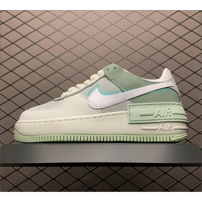 Women's Nike Air Force 1 Shadow Spruce Aura Outlet CW2655-001