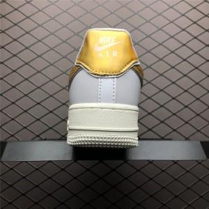 Women's Nike Air Force 1 07 Metallic Pack White Gold