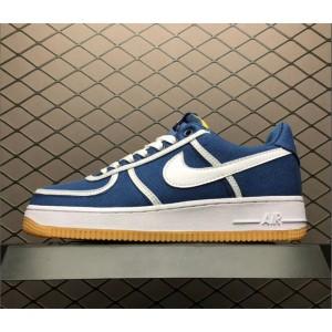 Women's Nike Air Force 1 07 PRM Navy Grey White