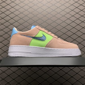 Women's Nike Air Force 1 07 SE Washed Coral Ghost Green