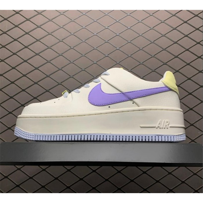 Women's Nike Air Force 1 Sail Medium Violet CN2579-151