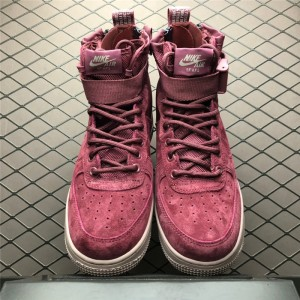 Women's SF Nike Air Force 1 Mid Force Is Female AJ1698-600