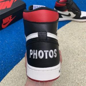 Men's Air Jordan 1 No Ls Not For Resale Varsity Red