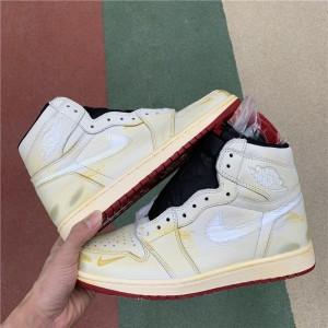 Men's/Women's Nigel Sylvester x Air Jordan 1 High OG Sail/Varsity Red