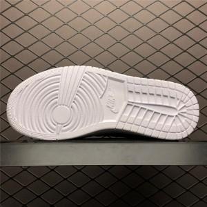 Women's Air Jordan 1 High Zip Triple White